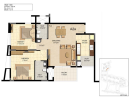 Floor plan Type-A2a