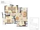 Floor plan Type-B4a