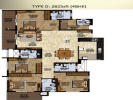 Floor plan 2825 4BHK