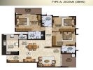Floor plan 2019-3bhk
