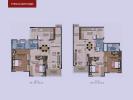 Typical unit plans 2bhk