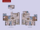 Typical unit plans 3bhk Luxe