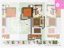 Floor plan Type-B 4BHK